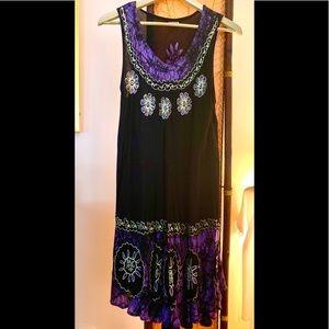 Free Size Boho Summer Dress